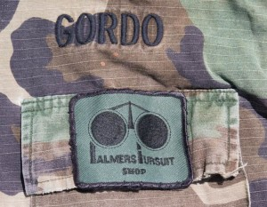 DeBone jacket with Gordo and Palmers patch