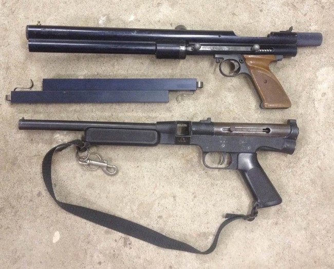 Brass Eagle Eagle and Tippmann SMG-60