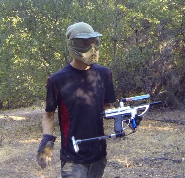 arlyn with lever sniper and co2 stock