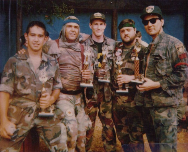Paladin takes first at Paintball South's 1st annual 5-man