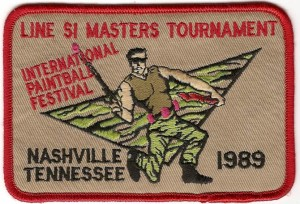 1989 Master Tournament patch