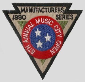 Music City Open 1990 Patch