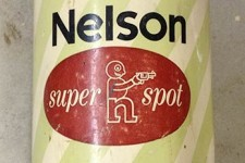 Tin Cans of Old Nelson Super Spot Oil Based Paint c.60-70s?