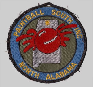 Paintball South Patch