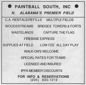 Paintbal South - September 1989