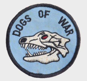 Dogs of War patch from Dan DeBone.