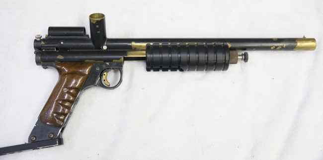 Right side shot of Tosh's Mac 1 Annihilator.
