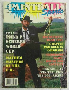91 world cup in the November 1991 Issue of paintball sports international.