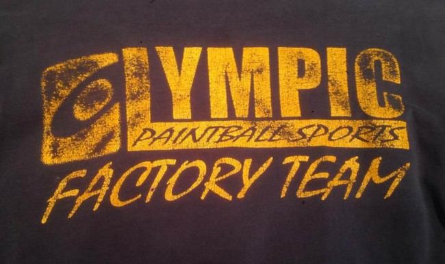 Olympic Paintball Sports Factory Team Shirt