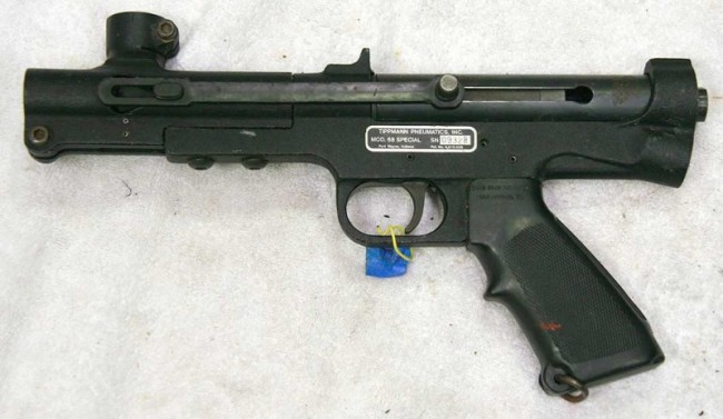 left side of a Tippmann 68 special