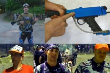 Over 200 subscribers and more classic paintball videos coming up!