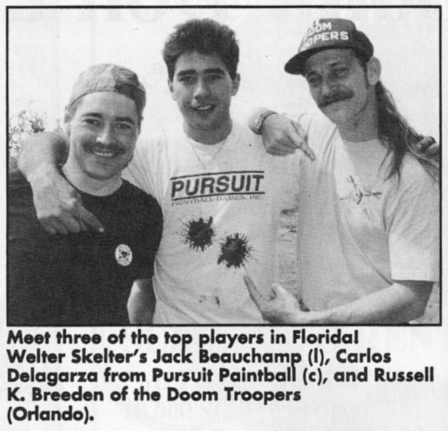 APG 1993 scan of Jack Beauchamp, Carlos Delagarza, Russell Breeden