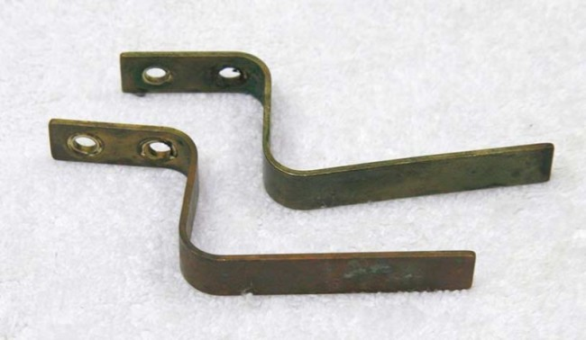 Lapco Brass trigger guards.