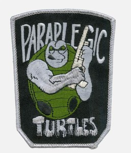 Paraplegic Turtles patch.