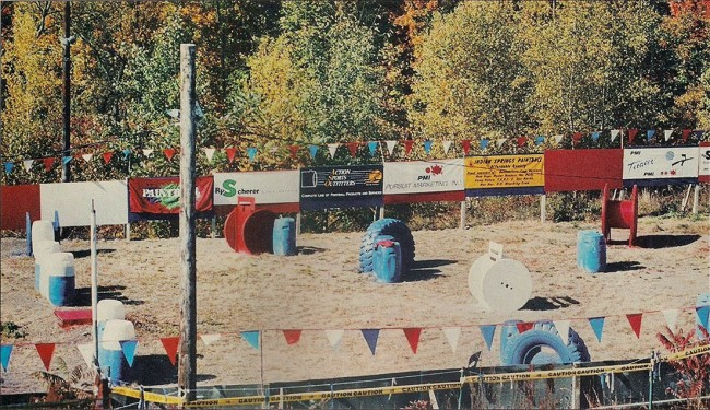 The Arena at SNY, Scan from the February 1992 Issue of Paintball Sports International