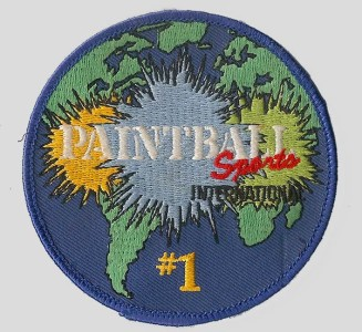 Paintball Sports International Patch.