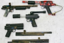 Carter Machine Sterling, Mac 1 Annihilator, PGP, Sterling and KPs...
