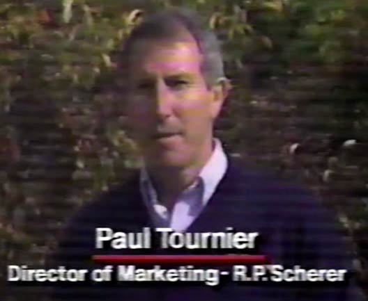Paul Tournier of RP Scherer talks about Paintball and Paint.