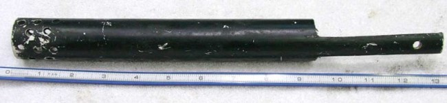A PVC pump handle for a nelspot challenger.