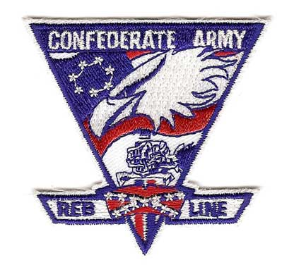 Confederate Army Supply Patch