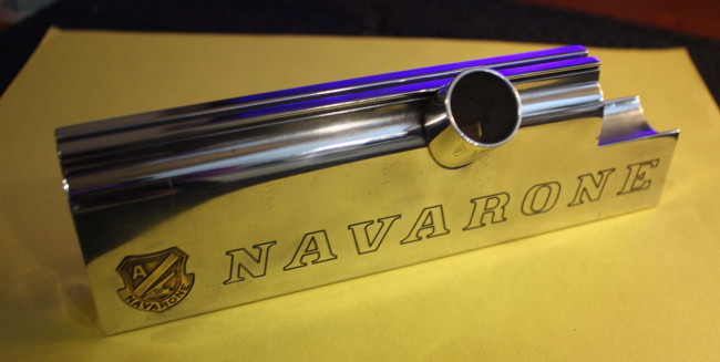 Right side of Navarone 17 Autococker body post polish.