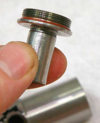 Removable Powertube tip from Minimag Valve front
