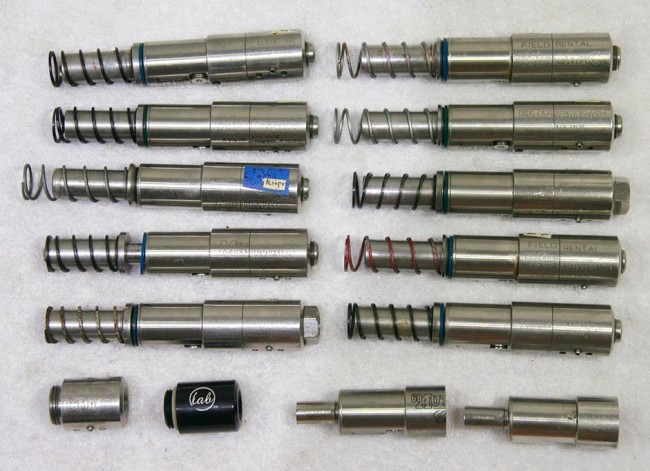 Automag and minimag valve assemblies.