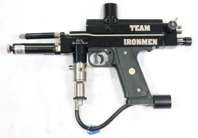 Brahim Estphan's 1996 Ironmen Autococker. Left side.