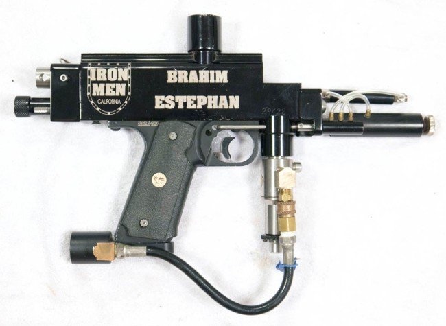 Brahim Estphan's 1996 Ironmen Autococker. Right side.
