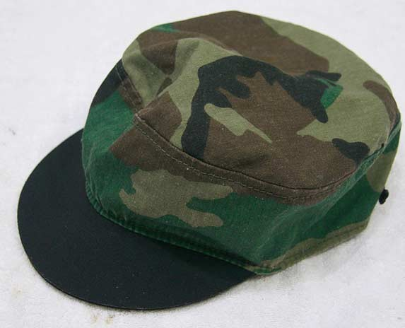 "A Camo ""Bulla"" hat.  Reversible and the inside is black."