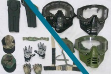 Harnesses, Whipper Snapper masks and Shoulder Stocks from 10-11/2014