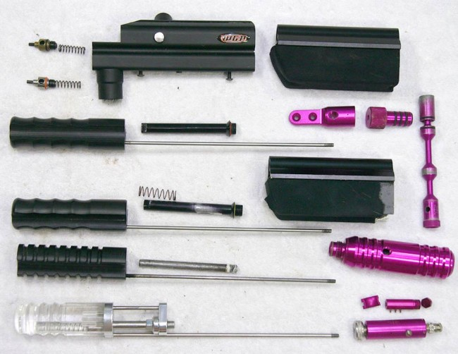 Autococker and Sniper pump kits from 10-2014.