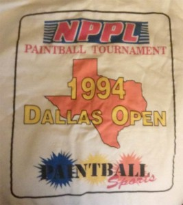Dallas 1994 Open T shirt.