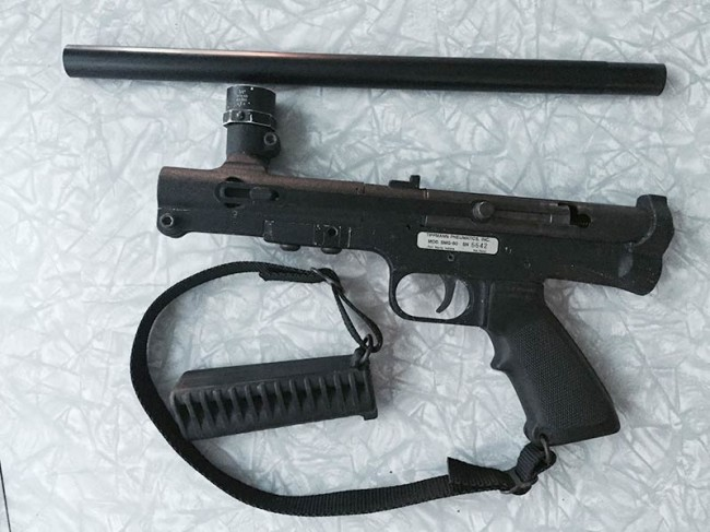SMG 60 converted to a 68 Special with serial SMG-60 6642.