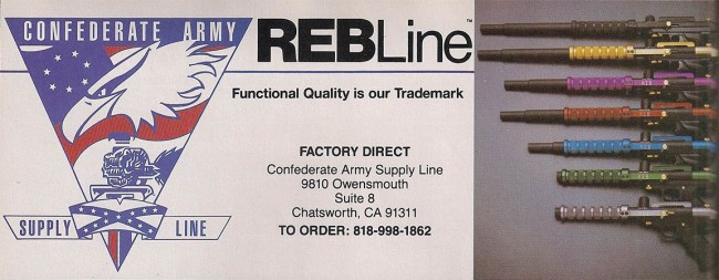 Top portion of the Rebline ad.