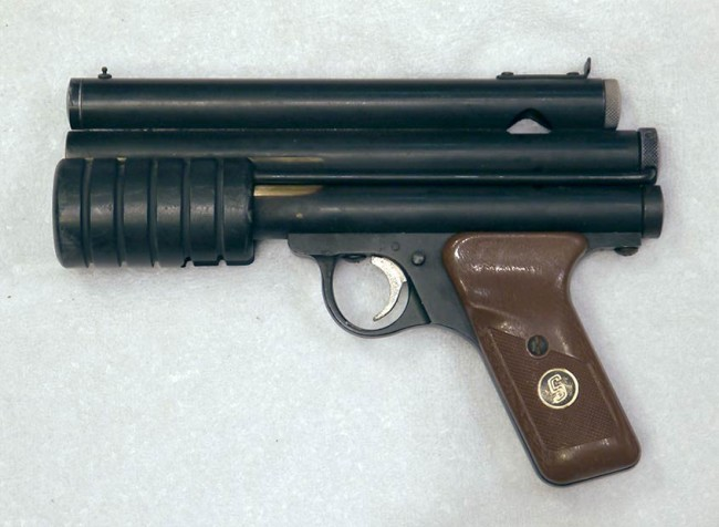 Left view of early PG to PGP conversion by Mac 1 and South Bay Arms.