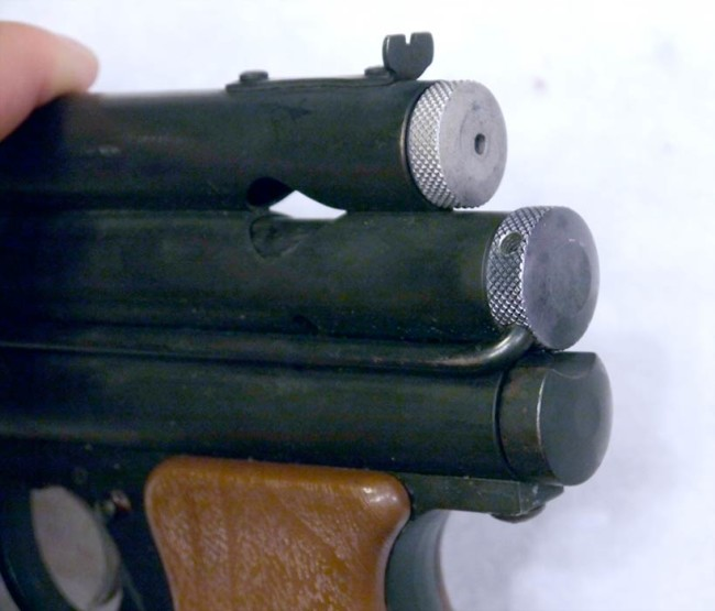 Back view of PG converted to PGP by Mac 1 and South Bay Arms.