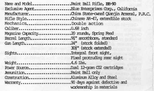 Crop of the back cover, of the BE-90 manual.