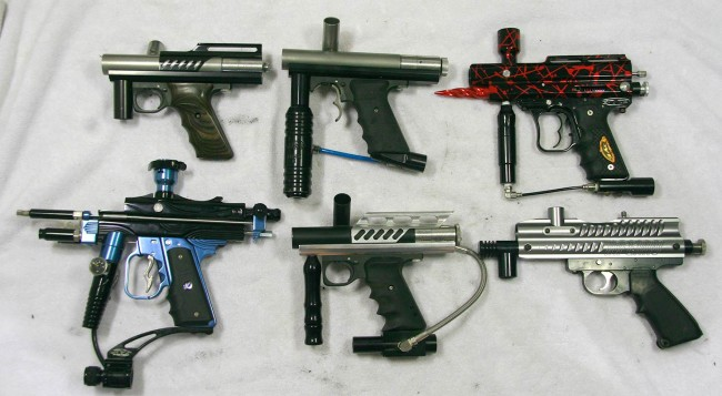 Left side of the paintguns added and parted out in February.