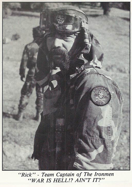 General Rick Baird, as pictured in the January 1988 issue of Front Line Magazine.