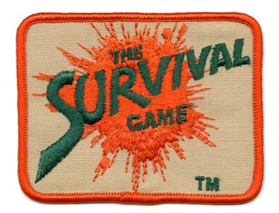 National Survival Game patch. C. late 1980s?