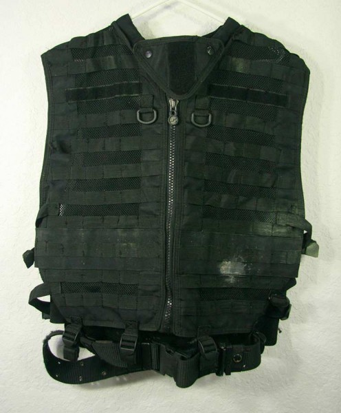 The Spec Ops Molle Vest. This thing must weight ten pounds.