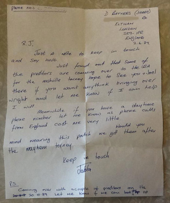 Jabba's letter to RJ