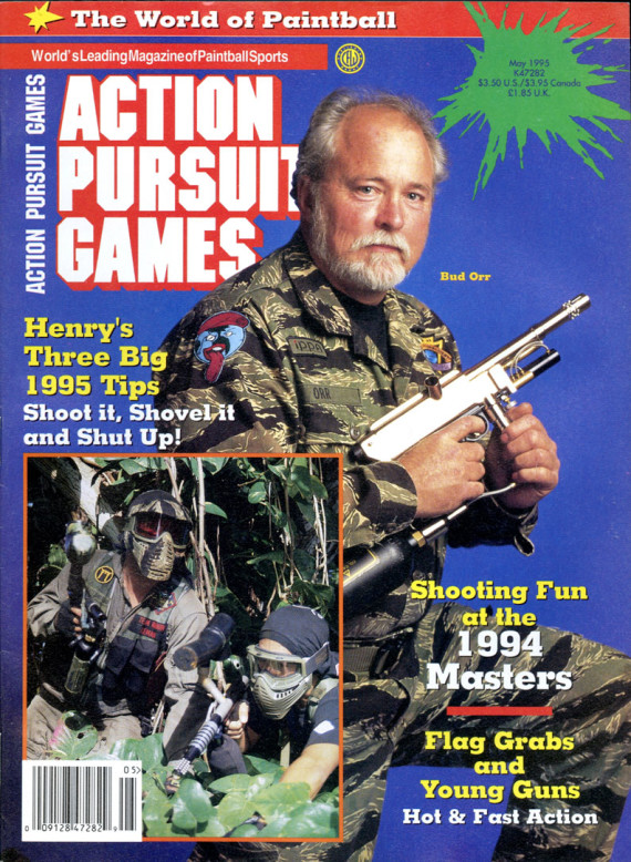 Bud Orr on the cover of the May 1995 issue of APG.