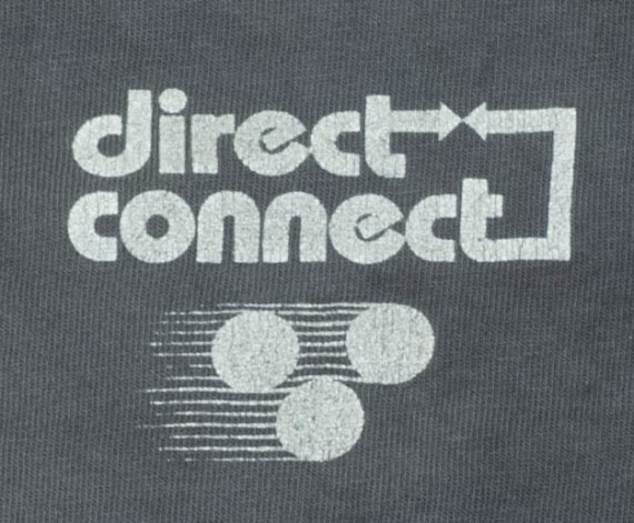 Front side close up Direct Connect F1 Illustrator Shirt.