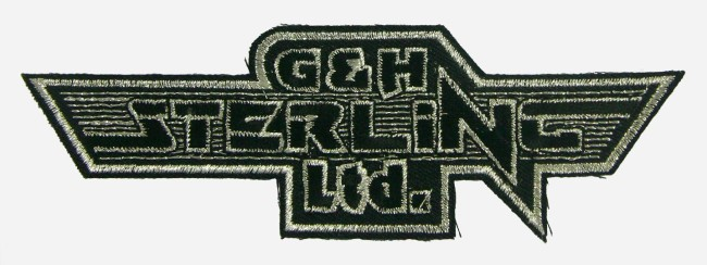 G and H Sterling Patch. c. early 1990s.