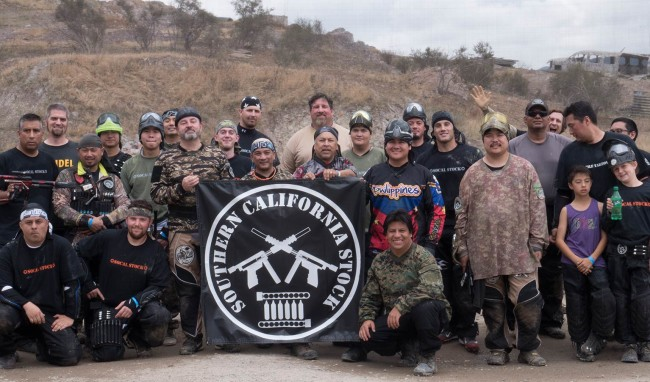 Our group mid day at Jungle Island for So Cal Stock's 12 gram game in May 2015.