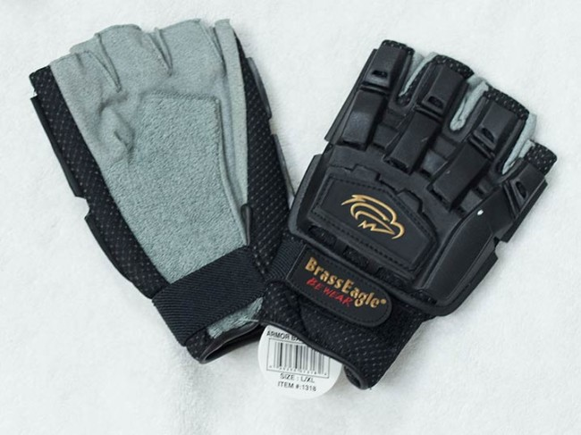 How often do you find a pair of new Brass Eagle gloves with the tag still on them?