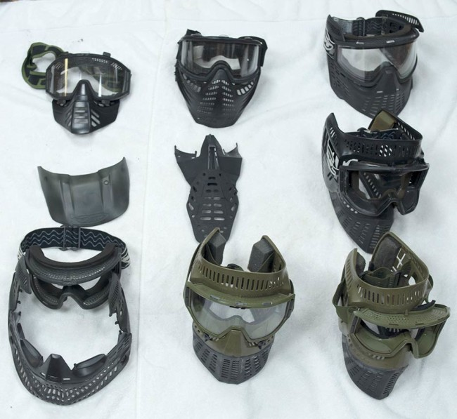 A few masks added to inventory in June of 2015. These include elite masks and Scott Masks.