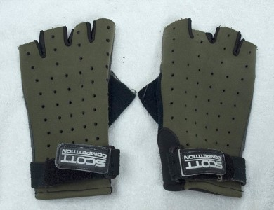 Some super breath able and old school Scott gloves.